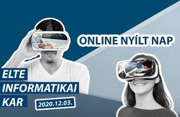 Online Nyílt Nap 2020.12.03.