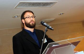 Visnovitz Márton lett az ELTE Innovatív Hallgatói Ötletpályázat második helyezettje