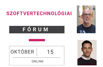Szoftvertechnológiai Fórum 2020.10.15.