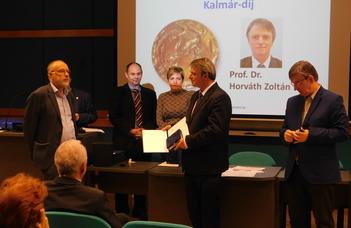 Kalmár-díjat kapott Prof. Dr. Horváth Zoltán