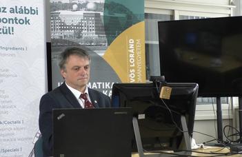 Online nyílt napot tartottak az ELTE Informatikai karán