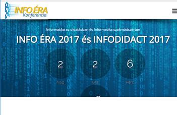 INFO ÉRA 2017, INFODIDACT 2017 konferencia