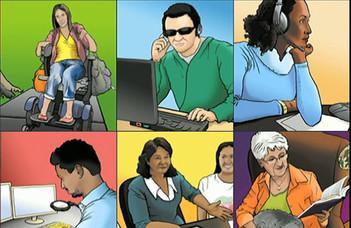 Esélyegyenlőség - fogyatékossággal élő hallgatók, speciális tanulási igényű diákok segítése