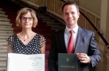 Bolyai kutatási ösztöndíjat kapott az ELTE Savaria Egyetemi Központ két oktatója